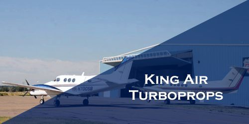 King Air Turboprop Business Charter