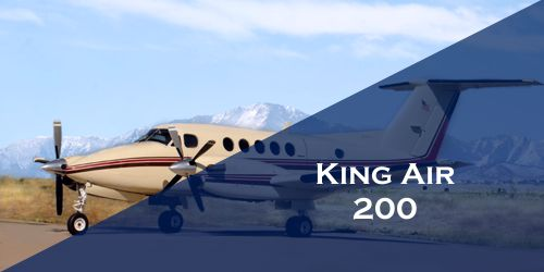 King Air 200 Turboprop Business Charter