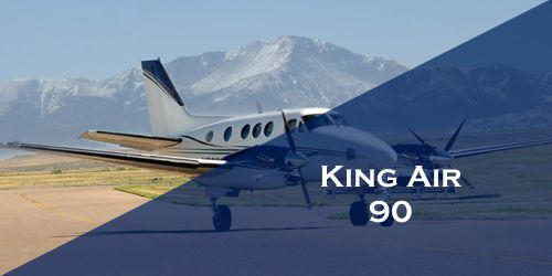 King Air 90 Turboprop Business Charter