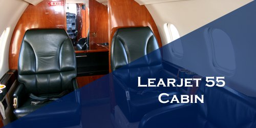 Learjet 35 Cabin Light Charter Jet
