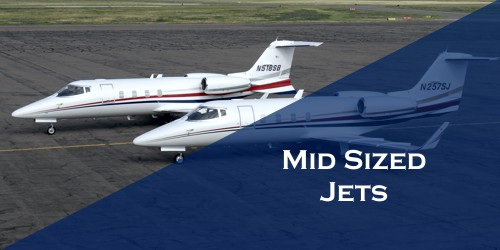 Mid Sized Jet Business Charter